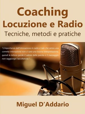cover image of Coaching Locuzione e Radio